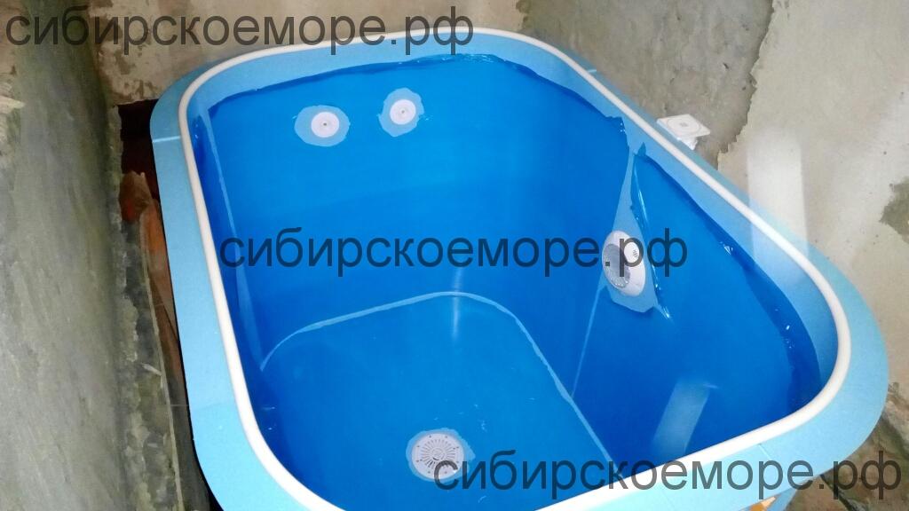Чаша бассейна из полипропилена от производителя