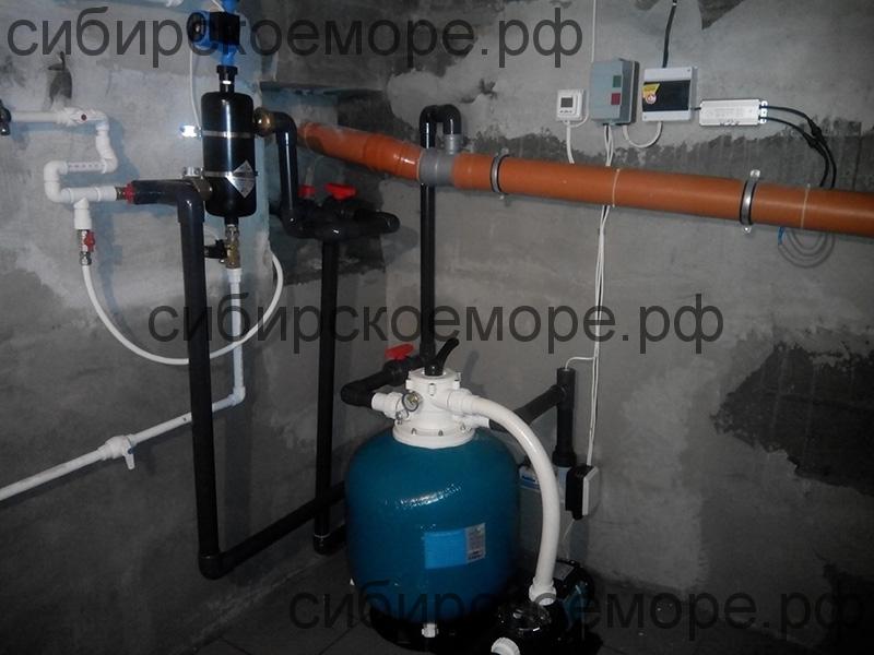Оборудование для бассейна из полипропилена