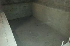 Бетонная чаша бассейна